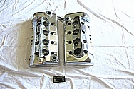 Ford Mustang Cobra 4.6L DOHC Aluminum Valve Covers AFTER Chrome-Like Metal Polishing and Buffing Services