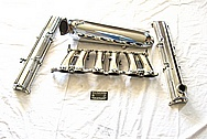 Toyota Supra 2JZ-GTE Turbo Aluminum Valve Covers AFTER Chrome-Like Metal Polishing and Buffing Services