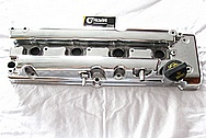 2007 - 2009 Suzuki SX4 2.0L J20A Engine Aluminum Valve Cover AFTER Chrome-Like Metal Polishing and Buffing Services