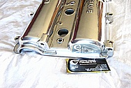 Mazda Miata DOHC 16 Valve Aluminum Engine Valve Cover AFTER Chrome-Like Metal Polishing and Buffing Services