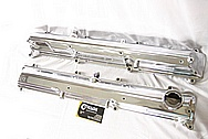 Toyota Supra 2JZ-GTE Aluminum Valve Covers AFTER Chrome-Like Metal Polishing and Buffing Services Plus Welding Services