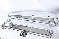 Jaguar Aluminum Valve Covers AFTER Chrome-Like Metal Polishing and Buffing Services / Restoration Services