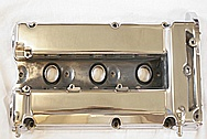 Aluminum Valve Cover AFTER Chrome-Like Metal Polishing and Buffing Services
