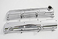 METAL POLISHING - TOYOTA SUPRA VALVE COVERS CHROME POLISHING
