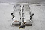 GM Aluminum Valve Covers AFTER Chrome-Like Metal Polishing and Buffing Services / Restoration Services