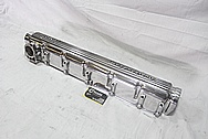 GM PMD Aluminum Overhead Cam Valve Cover BEFORE Chrome-Like Metal Polishing and Buffing Services / Restoration Services