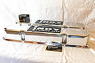 Indy Performance V8 Aluminum Valve Covers AFTER Chrome-Like Metal Polishing and Buffing Services / Restoration Services