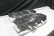 Rough Cast V8 Valve Covers AFTER Chrome-Like Metal Polishing and Buffing Services / Restoration Services / Painting Services