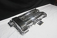 Nissan Twin Cam 16 Valve Aluminum Valve Cover AFTER Chrome-Like Metal Polishing and Buffing Services / Restoration Services Plus Custom Painting Services