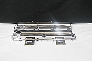 Toyota Supra 2JZ-GTE Aluminum Valve Covers AFTER Chrome-Like Metal Polishing and Buffing Services / Restoration Services