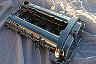 Chevy Cobalt Ecotec Aluminum Valve Cover AFTER Chrome-Like Metal Polishing and Buffing Services