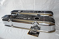 Mopar Performance Aluminum Valve Covers AFTER Chrome-Like Metal Polishing and Buffing Services / Restoration Services