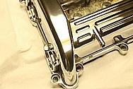 4 Cylinder Valve Cover AFTER Chrome-Like Metal Polishing and Buffing Services