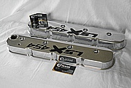 LSX 454 Aluminum Valve Covers AFTER Chrome-Like Metal Polishing and Buffing Services / Restoration Services and Custom Panting Services
