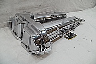 ECO-TEC Turbo Aluminum Chevy Cobalt Valve Covers AFTER Chrome-Like Metal Polishing and Buffing Services / Restoration Services