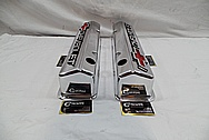 Aluminum Chevorlet Valve Covers AFTER Chrome-Like Metal Polishing and Buffing Services / Restoration Services