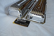 Aluminum Valve Covers AFTER Chrome-Like Metal Polishing and Buffing Services / Restoration Services