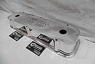 Aluminum Kenne Bell Valve Covers AFTER Chrome-Like Metal Polishing and Buffing Services / Restoration Services