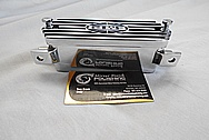 1968 Volks Wagen EMPI Aluminum Valve Covers AFTER Chrome-Like Metal Polishing and Buffing Services / Restoration Services