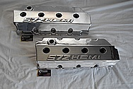 572 Hemi Aluminum Valve Covers AFTER Chrome-Like Metal Polishing and Buffing Services / Restoration Services