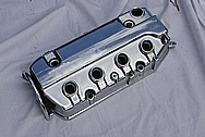 1991 Honda Civic Aluminum Valve Cover AFTER Chrome-Like Metal Polishing and Buffing Services