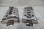Ford Mustang Cobra DOHC Aluminum Valve Cover AFTER Chrome-Like Metal Polishing and Buffing Services / Restoration Services