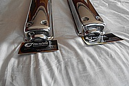 Jaguar Aluminum Valve Cover AFTER Chrome-Like Metal Polishing and Buffing Services / Restoration Services