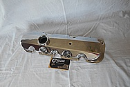 Aluminum Valve Cover AFTER Chrome-Like Metal Polishing and Buffing Services / Restoration Service