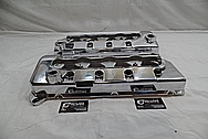 2003 Ford Mustang Cobra 32Valve V8 SVT Aluminum Valve Covers AFTER Chrome-Like Metal Polishing and Buffing Services / Restoration Services