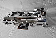 Toyota Celica 3S-GTE Aluminum Valve Cover AFTER Chrome-Like Metal Polishing - Aluminum Polishing