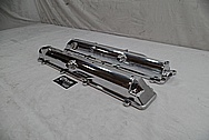 Toyota Supra 2JZ-GTE Aluminum Valve Covers AFTER Chrome-Like Metal Polishing - Aluminum Polishing