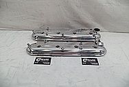 Aluminum Valve Covers AFTER Chrome-Like Metal Polishing - Aluminum Valve Coverl Polishing