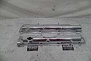 1993 - 1998 Toyota Supra 2JZ-GTE Aluminum Valve Covers AFTER Chrome-Like Metal Polishing - Aluminum Polishing Services