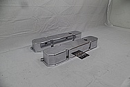 Aluminum Valve Covers AFTER Chrome-Like Metal Polishing and Buffing Services - Aluminum Polishing Services