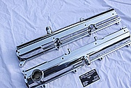 Toyota Supra 2JZGTE Aluminum Valve Covers AFTER Chrome-Like Metal Polishing and Buffing Services