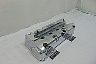 Honda Aluminum 4 Cylinder Valve Cover AFTER Chrome-Like Metal Polishing and Buffing Services - Aluminum Polishing Services