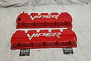 2003 - 2006 Dodge Viper Aluminum Valve Covers AFTER Chrome-Like Metal Polishing - Aluminum Polishing Services