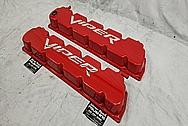 2003 - 2006 Dodge Viper Aluminum Valve Covers AFTER Chrome-Like Metal Polishing - Aluminum Polishing Services