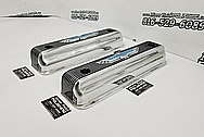 Ford Thunderbird Aluminum Valve Covers AFTER Chrome-Like Metal Polishing and Buffing Services - Aluminum Polishing Services - Valve Cover Polishing