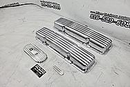 Aluminum Valve Cover AFTER Chrome-Like Polishing and Buffing - Aluminum Polishing - Valve Cover Polishing