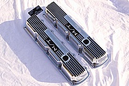 V8 Aluminum Valve Covers AFTER Chrome-Like Metal Polishing and Buffing Services