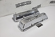 Ford 428 Cobra Jet Aluminum Valve Covers AFTER Chrome-Like Polishing and Buffing - Aluminum Polishing - Valve Cover Polishing