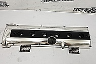 Aluminum Valve Cover AFTER Chrome-Like Metal Polishing and Buffing Services / Restoration Services - Aluminum Polishing Plus Custom Painting Service