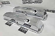 Aluminum Valve Covers AFTER Chrome-Like Metal Polishing - Aluminum Polishing - Valve Cover Polishing