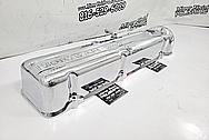 Aluminum Nissan OHC Valve Cover AFTER Chrome-Like Metal Polishing - Aluminum Polishing - Valve Cover Polishing