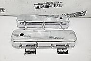 Aluminum V8 Valve Covers AFTER Chrome-Like Metal Polishing - Aluminum Polishing - Valve Cover Polishing