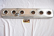 Willy's Knight Engine Aluminum Valve Cover Piece BEFORE Chrome-Like Metal Polishing and Buffing Services