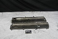 Toyota Supra 2JZ-GTE Aluminum Valve Covers BEFORE Chrome-Like Metal Polishing and Buffing Services / Restoration Services