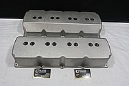 Aluminum Engine Valve Covers BEFORE Chrome-Like Metal Polishing and Buffing Services / Restoration Services / Custom Painting Services