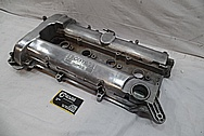 ECO-TEC Turbo Aluminum Chevy Cobalt Valve Covers BEFORE Chrome-Like Metal Polishing and Buffing Services / Restoration Services